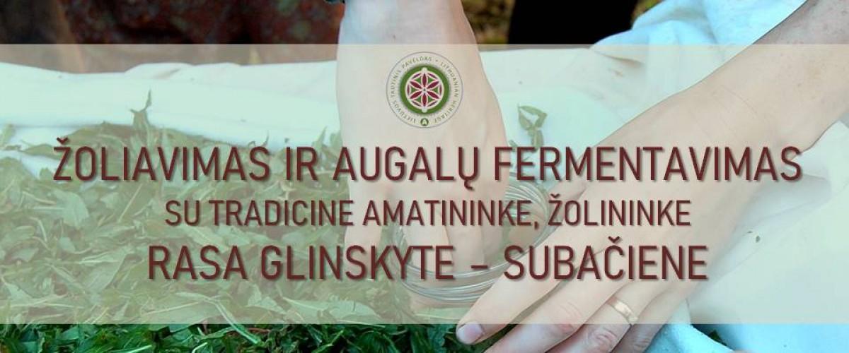 Žoliavimas ir augalų fermentavimas