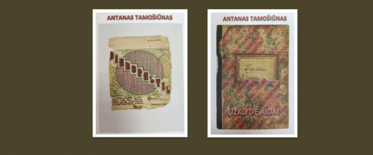 Žasliečio Antano Tamošiūno knygų sutiktuvės liepos 26 d., sekmadienį, 15 val.