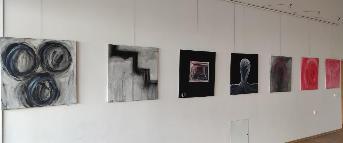 Aivaro Jonykos ir Adrijono Leonavičiaus tapybos darbų paroda